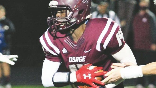 Osage sophomore Eric Hood.