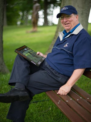 """Bob Graham of Irondequoit has compiled a coffee-table-style book called, """"Golf Can be Murder!"""""""
