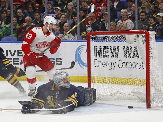 Red Wings Sabres Hockey