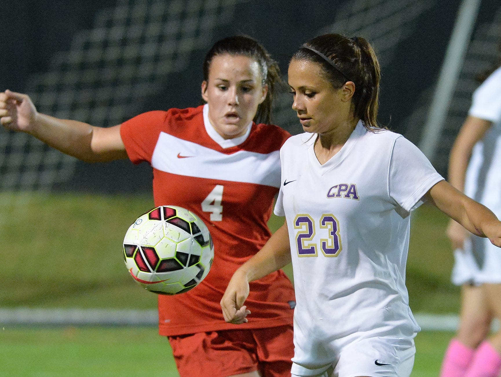 CPA, including Sarah Sievertsen, right, is one of the favorites in Class A-AA.