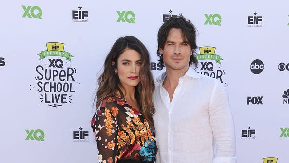 Nikki Reed and actor Ian Somerhalder had their first