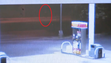 Hannah Graham on surveillance video from the Shell Gas Station at 1 a.m Saturday.