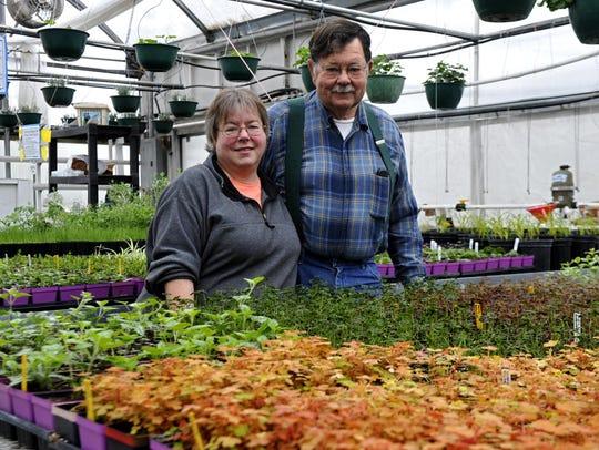 Jim and Marci Bundi, owners of Bundi Gardens.