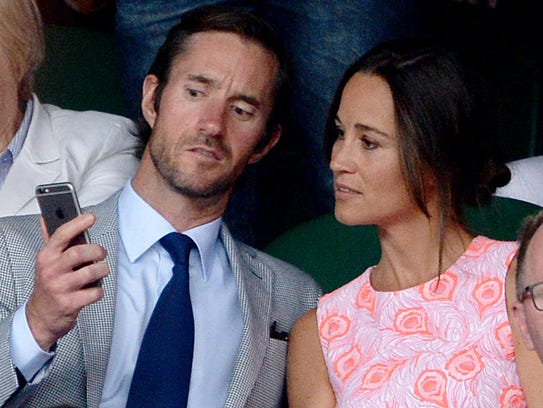Pippa Middleton is officially off the market.