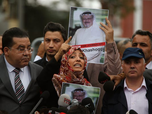 AP APTOPIX TURKEY SAUDI MISSING WRITER I TUR