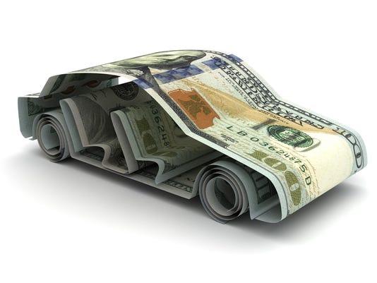 Dollar and Car