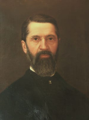 George Yewell created this portrait of east Des Moines businessman Wesley Redhead.