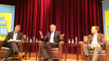 Stuart McWhorter interviews AOL founder Steve Case and John Ingram,  chairman of Ingram Content Group.