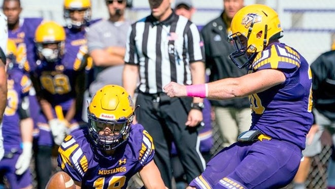 Collin Grady connected on this game-winning field goal against Fort Collins on Saturday afternoon at Altamirano Stadium.