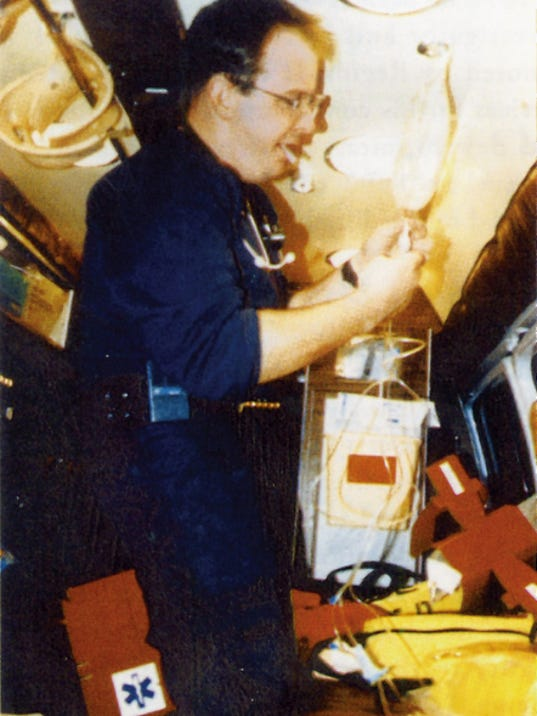 Headlight File Photo   Steve Bean was Deming's first EMT instructor before his death in 1995 from a heart attack at the age of 30.