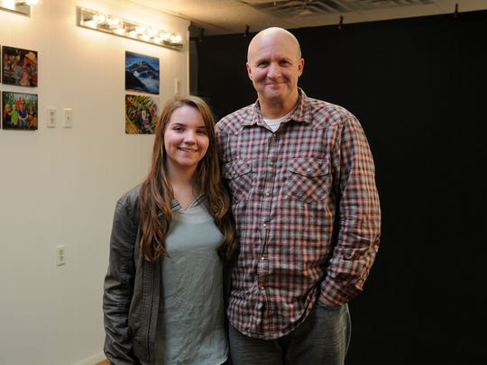 Kennedy Preston, 16, and her father Scott Frank recently opened their own studio, Frankly Visual Photography, in downtown Oak Harbor.