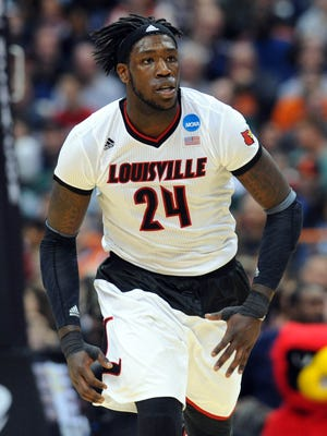 No. 4 Louisville will battle No. 7 Michigan State for a Final Four berth.