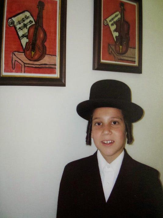 Mendel Taub bar mitzvah