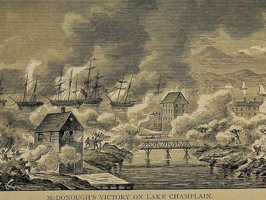 Macdonough's victory on Lake Champlain