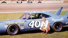 The late Pete Hamilton of Newton, MA was one of the more prominent drivers to hit the big time after racing at Norwood Arena and won the 1970 Daytona 500 among other major NASCAR events. (Credit: NASCAR photo)