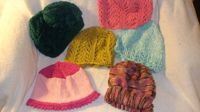 Cotton chemo caps are very helpful in summer. Use a soft cotton yarn.
