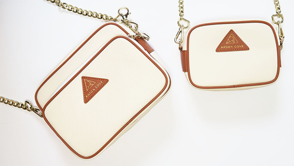 The Arden Cove crossbody bag has a number of security