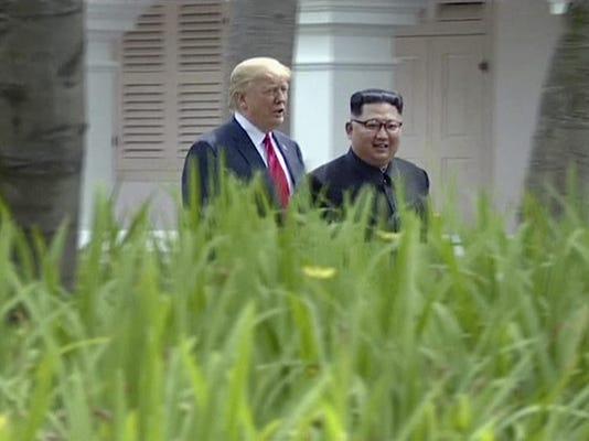 Kim Jong Un,Donald Trump