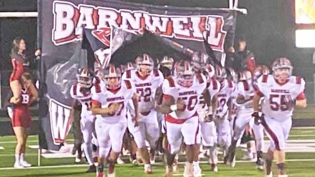 The Barnwell Warhorses emerged victorious over Woodland on Nov. 13.