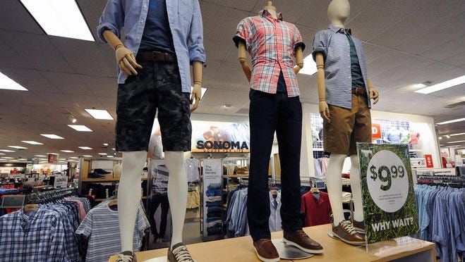 The Sonoma brand of clothing is displayed at a Kohl's store in Menomonee Falls.