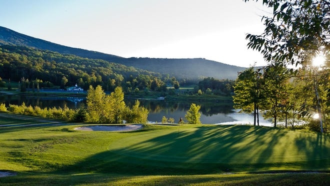There's a 27 hole golf course at Vermont's Stratton Mountain Resort
