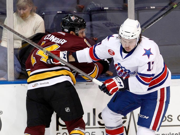 The Amerks defeated Chicago 4-1 on Wednesday night.