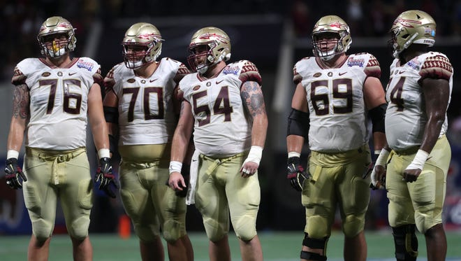 Florida State's offensive line has give up 31 tackles for loss in three games. That puts the team dead last in the nation in tackles for loss allowed per game.