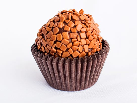 Sweet Joy brigadeiros come in many different flavors,