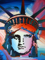 """""""Liberty"""" by Peter Max"""
