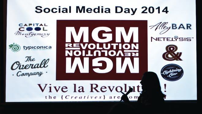 About 100 people gathered as MGM Revolution held their Social Media Day 2014.