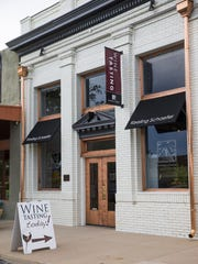 Keeling Schaefer wine tasting room in Willcox, Ariz.
