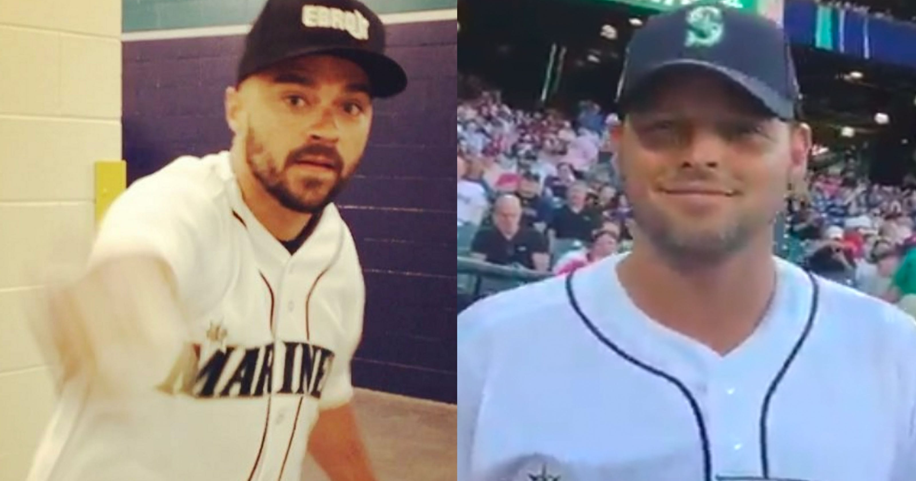 Greys Anatomy Cast Throws First Pitch At Mariners Game