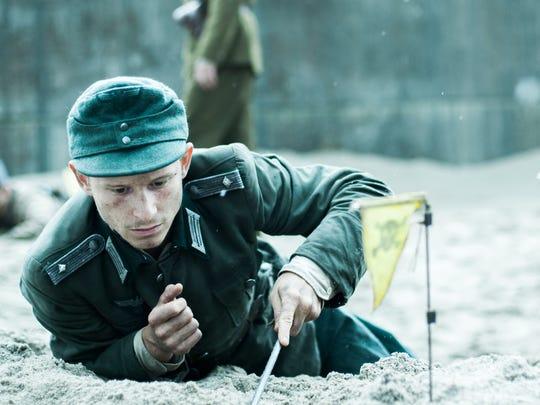 """Joel Basman in a scene from """"Land of Mine."""""""