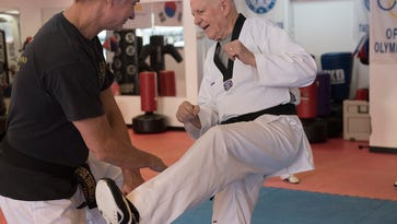 Fitness passion drives 83-year-old Wiest's black-belt work ethic