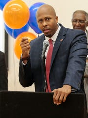Cincinnati mayoral candidate Rob Richardson Jr.