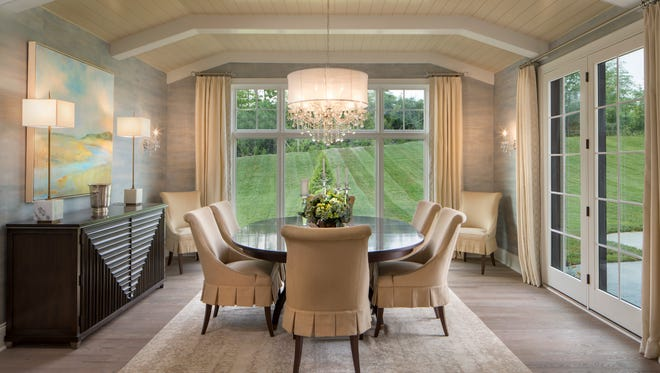 The Sterling Homes-built Jefferson in the Oaks of West Chester subdivision swept awards during the 53rd Homearama luxury home showcase.