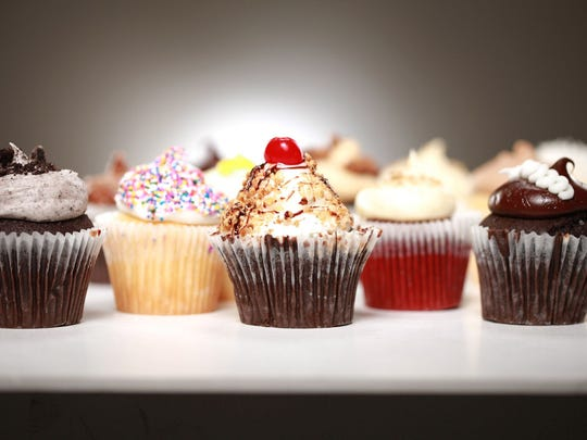 Smallcakes Cupcakery offers a wide selection of sweets.