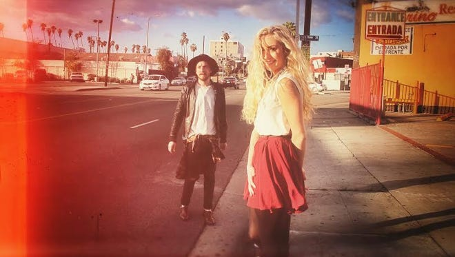 The synth-pop band DWNTWN is based in Los Angeles.