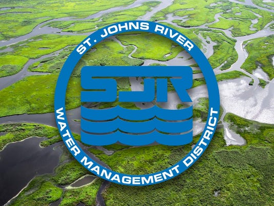 NOT FOR PRINT logo St. Johns River Water Management District from their tweet 11/1/2016