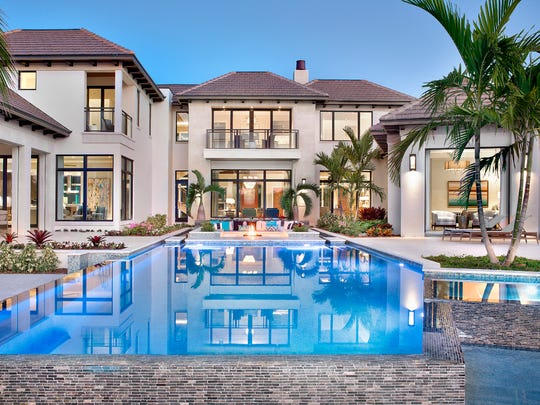 This home at 3750 Rum Row in Port Royal was the most expensive home sold in 2017 in Collier County.