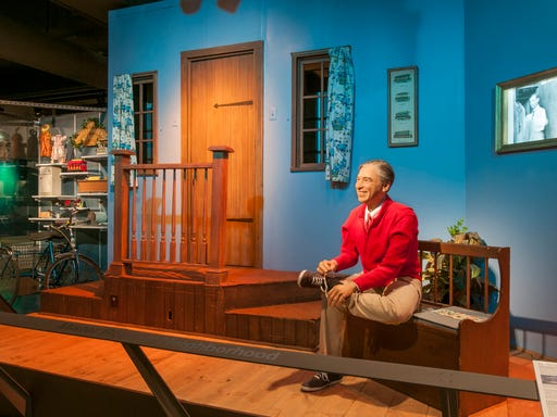 It's a beautiful day in Pennsylvania on Mister Rogers' trail