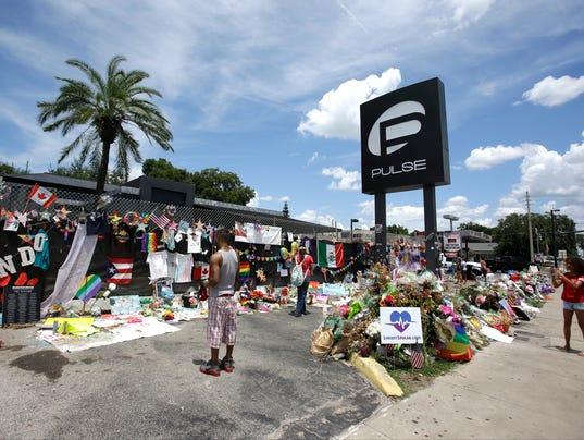 AP NIGHTCLUB SHOOTING FLORIDA ONE MONTH LATER A USA FL