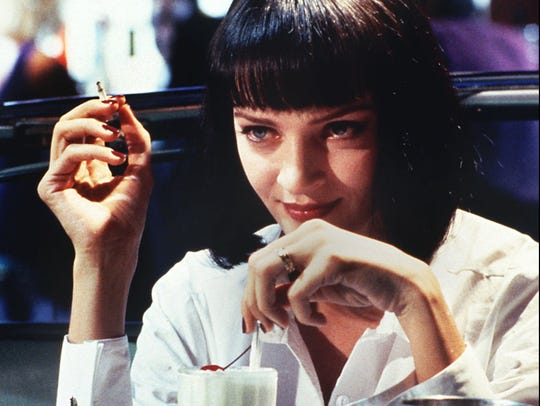 Uma Thurman played a gangster's wife in 'Pulp Fiction.'