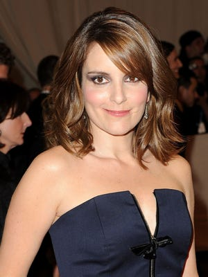 "Tina Fey is pictured at the 2010  Metropolitan Museum of Art Costume Institute Gala, otherwise known as ""such a jerk parade."""