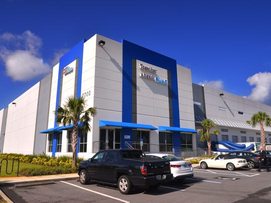 The commercial real estate company Lightle Beckner Robison Inc. is the listing agent for Port Canaveral's Titusville Logistics Center, which the company put on the market for $21.95 million.