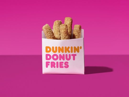 Get free Donut Fries Oct. 5-7 with an iced coffee purchase.