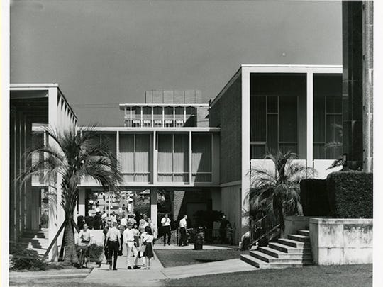 The original Union first opened in 1952, and all of the separately constructed buildings were later connected.