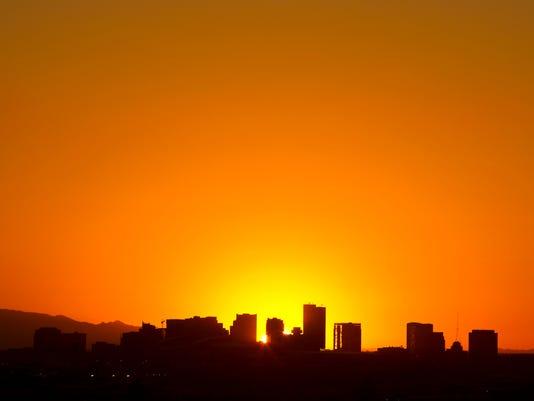 Sunset 2013