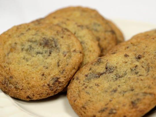 Ginger Sea Salt Chocolate Cookies