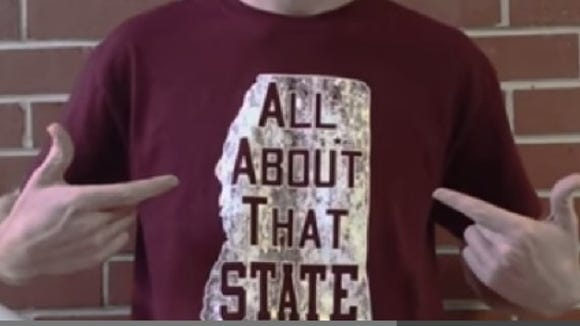 Mississippi State fan celebrates the football team's season with a parody of 'All About That Bass.'